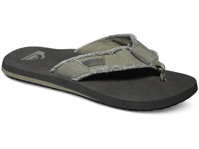 Quiksilver Monkey Abyss Sandals Herren green/black/brown